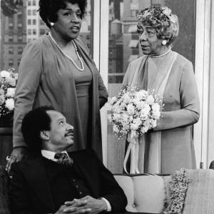 Still of Zara Cully, Sherman Hemsley and Isabel Sanford in The Jeffersons (1975)