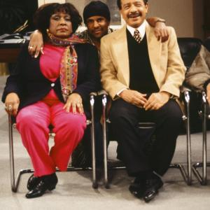 Sherman Hemsley and Isabel Sanford at event of The Fresh Prince of Bel-Air (1990)