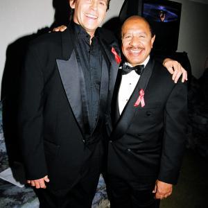 Jeff Conaway and Sherman Hemsley