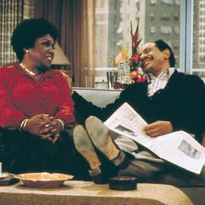Still of Sherman Hemsley and Isabel Sanford in The Jeffersons (1975)