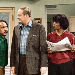 Still of Franklin Cover, Sherman Hemsley and Roxie Roker in The Jeffersons (1975)