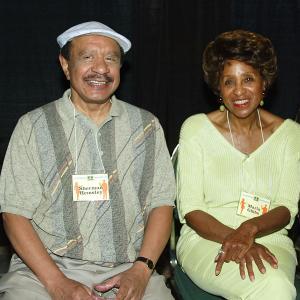 Marla Gibbs and Sherman Hemsley