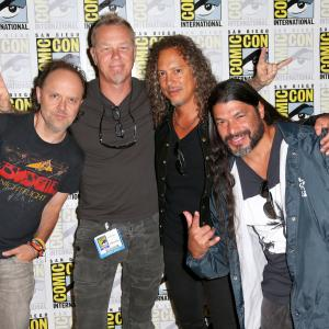 Lars Ulrich, James Hetfield, Robert Trujillo