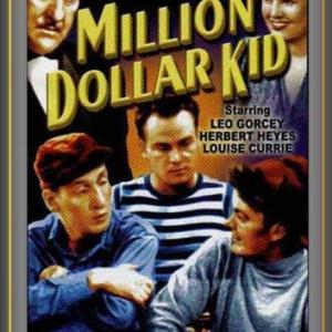 Louise Currie Leo Gorcey Huntz Hall and Herbert Heyes in Million Dollar Kid 1944