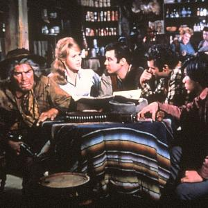 Jane Fonda, Lee Marvin, Michael Callan, Dwayne Hickman, Tom Nardini