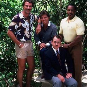 Tom Selleck, John Hillerman, Larry Manetti, Roger E. Mosley