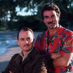Tom Selleck, John Hillerman