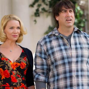 Laurie Holden, Rob Riggle