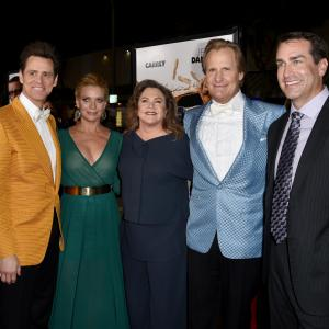 Jim Carrey, Kathleen Turner, Jeff Daniels, Laurie Holden, Rob Riggle