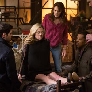 Still of Russell Hornsby, Silas Weir Mitchell, Bree Turner and David Giuntoli in Grimm (2011)