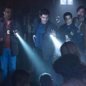 Still of Russell Hornsby, Reggie Lee, Silas Weir Mitchell and David Giuntoli in Grimm (2011)
