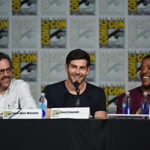 Russell Hornsby, Silas Weir Mitchell and David Giuntoli at event of Grimm (2011)