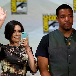 Russell Hornsby and Bitsie Tulloch at event of Grimm (2011)