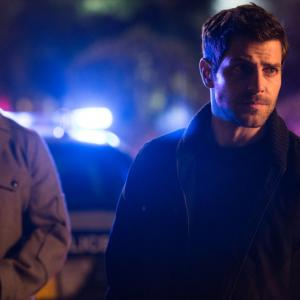 Still of Russell Hornsby and David Giuntoli in Grimm: Once We Were Gods (2014)