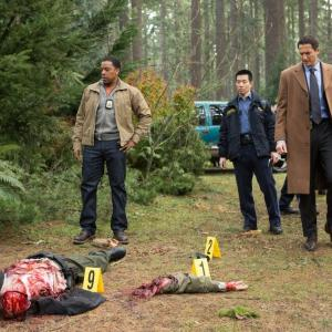 Still of Russell Hornsby, Reggie Lee and Sasha Roiz in Grimm (2011)