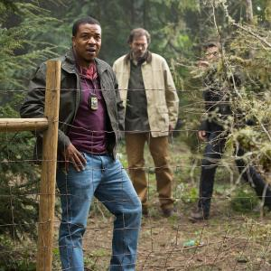 Still of Russell Hornsby and Silas Weir Mitchell in Grimm (2011)