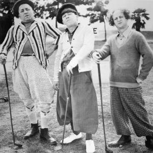 Moe Howard, Larry Fine, Curly Howard, The Three Stooges