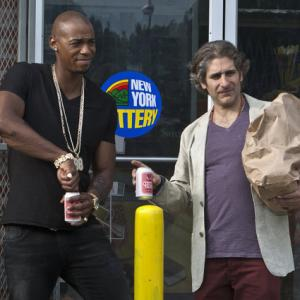 Still of Michael Imperioli and Mehcad Brooks in Necessary Roughness 2011