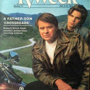 Dalton James and Robert Urich in