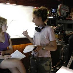Shainee Gabel and Scarlett Johansson in A Love Song for Bobby Long 2004