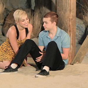 Angus T. Jones, Miley Cyrus