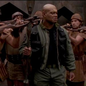 Still of Christopher Judge in Stargate SG1 1997