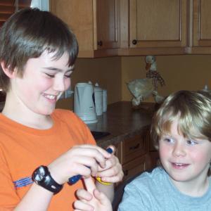 Cameron Bright and Jake Kaese