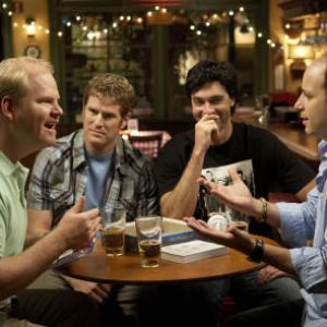 Still of Jim Gaffigan Kyle Howard Jamie Kaler and Michael Bunin in My Boys 2006