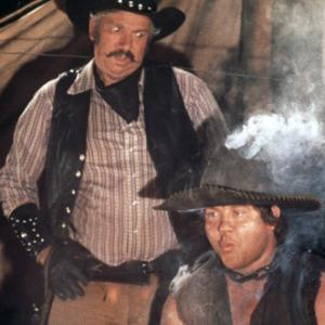 Slim Pickens, Alex Karras