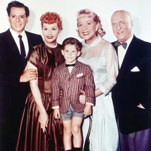 Lucille Ball, Desi Arnaz Jr., William Frawley, Richard Keith, Vivian Vance