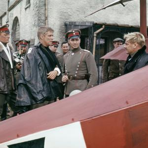 Still of George Peppard Jeremy Kemp and Karl Michael Vogler in The Blue Max 1966