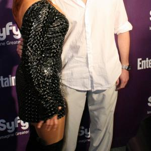 Chase Masterson and James Kerwin