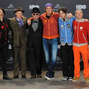 Flea, Jack Irons, Anthony Kiedis, Cliff Martinez, Chad Smith, Josh Klinghoffer