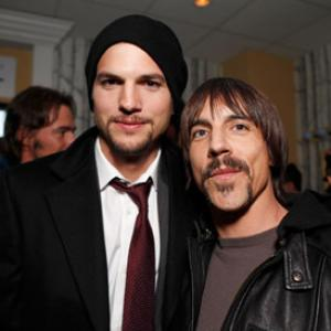 Ashton Kutcher, Anthony Kiedis