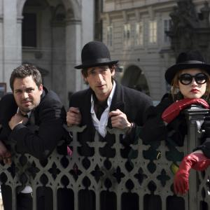 Still of Adrien Brody, Rinko Kikuchi and Mark Ruffalo in The Brothers Bloom (2008)