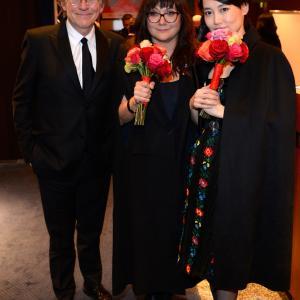 Gabriel Byrne, Isabel Coixet and Rinko Kikuchi