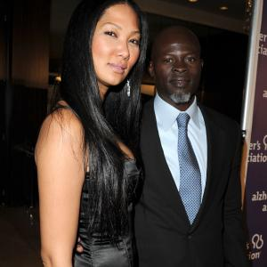 Djimon Hounsou, Kimora Lee Simmons