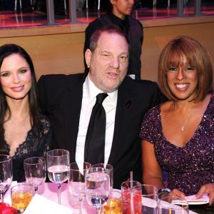 Harvey Weinstein, Gayle King, Georgina Chapman