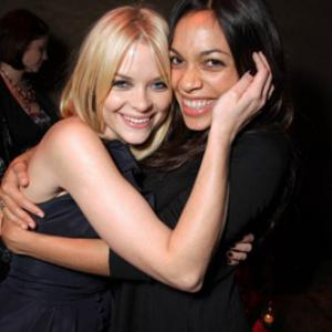 Rosario Dawson and Jaime King at event of The Spirit 2008