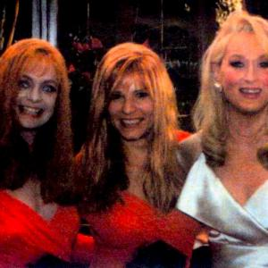 StuntBarbie Stunt Doubling Goldie Hawn pictured also with Meryl Streep Death Becomes Her