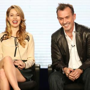 Robert Knepper and Alona Tal at event of Cult (2013)