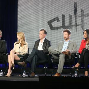 Matthew Davis, Robert Knepper and Alona Tal at event of Cult (2013)