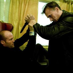 Still of Jason Statham and Robert Knepper in Transporter 3 (2008)