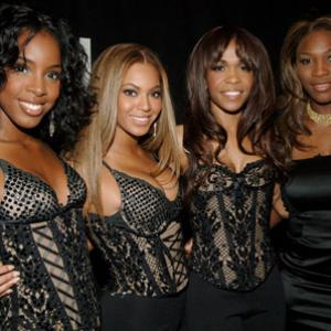 Beyonc Knowles Kelly Rowland Michelle Williams and Serena Williams at event of ESPY Awards 2005