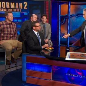 Will Ferrell, Steve Carell, David Koechner, Paul Rudd, Jon Stewart