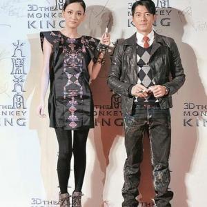 Aaron Kwok and Joe Chen in Xi you ji: Da nao tian gong (2014)