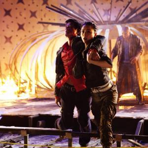 Still of Aaron Kwok and Jingchu Zhang in Chun sing gai bei (2010)