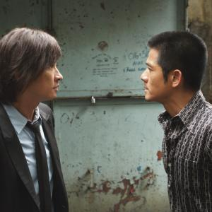 Still of Nick Cheung and Aaron Kwok in Conspirators (2013)