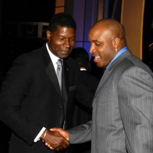 Dennis Haysbert, Barry Bonds