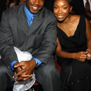 Brandy Norwood, Barry Bonds